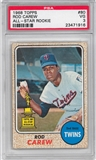 1968 Topps Baseball #80 Rod Carew PSA 3 (VG) *1916