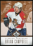 2012/13 Panini Limited #43 Brian Campbell /299