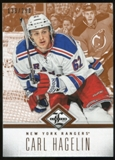 2012/13 Panini Limited #47 Carl Hagelin /299