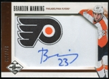 2012/13 Panini Limited #204 Brandon Manning RC Autograph /499