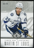 2012/13 Panini Limited Silver #96 Martin St. Louis /49