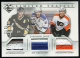2012/13 Panini Limited Travels Triple Jerseys Prime #TTJAG Jaromir Jagr /25