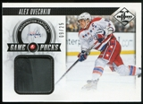 2012/13 Panini Limited Game Pucks #GPAO Alex Ovechkin /25