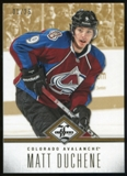 2012/13 Panini Limited Gold #74 Matt Duchene /25