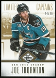 2012/13 Panini Limited Gold #175 Joe Thornton C /25
