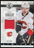 2012/13 Panini Limited Materials #LJAT Alex Tanguay /99