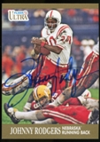2013 Upper Deck Fleer Retro Ultra Autographs #37 Johnny Rodgers C Autograph