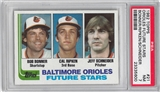 1982 Topps Baseball #21 Cal Ripken Jr. Rookie PSA 7 (NM) *5600