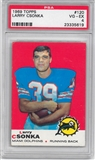 1969 Topps Football #120 Larry Csonka Rookie PSA 4 (VG-EX) *5619