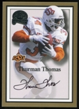 2013 Upper Deck Fleer Retro Fleer Greats of the Game Autographs #TT13 Thurman Thomas A Autograph