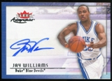 2013/14 Upper Deck Fleer Retro '00-01 Fleer Autographics #00AUJW Jay Williams D Autograph
