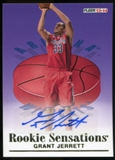 2013/14 Upper Deck Fleer Retro '92-93 Fleer Rookie Sensations Autographs #RS12 Grant Jerrett B Autograph