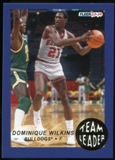 2013/14 Upper Deck Fleer Retro '92-93 Fleer Team Leaders #8 Dominique Wilkins