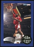 2013/14 Upper Deck Fleer Retro '92-93 Fleer Team Leaders #20 Larry Johnson