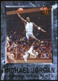 2013/14 Upper Deck Fleer Retro '92-93 Ultra Michael Jordan Career Highlights #10 Michael Jordan