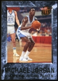 2013/14 Upper Deck Fleer Retro '92-93 Ultra Michael Jordan Career Highlights #12 Michael Jordan