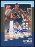 2013/14 Upper Deck Fleer Retro Autographs #10 Kerry Kittles G Autograph