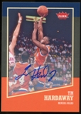 2013/14 Upper Deck Fleer Retro Autographs #13 Tim Hardaway G Autograph
