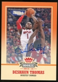 2013/14 Upper Deck Fleer Retro Autographs #60 Deshaun Thomas F Autograph