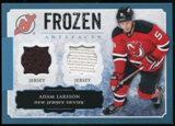 2013-14 Upper Deck Artifacts Frozen Artifacts Jerseys Blue #FAAL Adam Larsson B