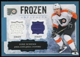 2013-14 Upper Deck Artifacts Frozen Artifacts Jerseys Blue #FALS Luke Schenn B
