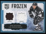 2013-14 Upper Deck Artifacts Frozen Artifacts Jerseys Blue #FAMR Mike Richards B