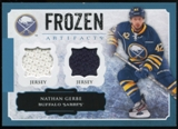 2013-14 Upper Deck Artifacts Frozen Artifacts Jerseys Blue #FANG Nathan Gerbe B