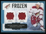 2013-14 Upper Deck Artifacts Frozen Artifacts Jerseys Blue #FAOE Oliver Ekman-Larsson B