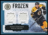 2013-14 Upper Deck Artifacts Frozen Artifacts Jerseys Blue #FAPB Patrice Bergeron B