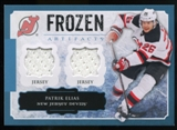2013-14 Upper Deck Artifacts Frozen Artifacts Jerseys Blue #FAPE Patrik Elias B