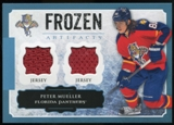 2013-14 Upper Deck Artifacts Frozen Artifacts Jerseys Blue #FAPM Peter Mueller B