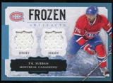 2013-14 Upper Deck Artifacts Frozen Artifacts Jerseys Blue #FAPS P.K. Subban B