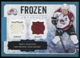 2013-14 Upper Deck Artifacts Frozen Artifacts Jerseys Blue #FAPS Paul Stastny B