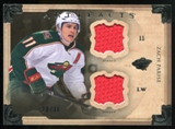 2013-14 Upper Deck Artifacts Horizontal Jerseys #99 Zach Parise /36