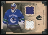 2013-14 Upper Deck Artifacts Horizontal Jerseys #123 Roberto Luongo G /36