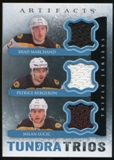 2013-14 Upper Deck Artifacts Tundra Trios Jerseys Blue #T3BLM Brad Marchand/Patrice Bergeron/Milan Lucic C