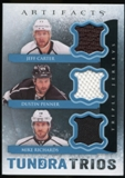 2013-14 Upper Deck Artifacts Tundra Trios Jerseys Blue #T3RCP Jeff Carter/Dustin Penner/Mike Richards D