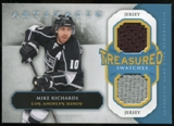 2013-14 Upper Deck Artifacts Treasured Swatches Jerseys Blue #TSMR Mike Richards B