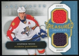2013-14 Upper Deck Artifacts Treasured Swatches Jerseys Blue #TSSW Stephen Weiss B