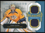 2013-14 Upper Deck Artifacts Treasured Swatches Jerseys Blue #TSPR Pekka Rinne C