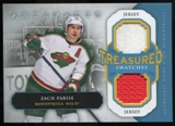 2013-14 Upper Deck Artifacts Treasured Swatches Jerseys Blue #TSZP Zach Parise C