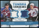 2013-14 Upper Deck Artifacts Tundra Tandems Jerseys Blue #TTSH Joe Sakic/Milan Hejduk A