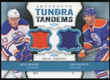 2013-14 Upper Deck Artifacts Tundra Tandems Jerseys Blue #TTAG Ales Hemsky/Sam Gagner B