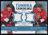 2013-14 Upper Deck Artifacts Tundra Tandems Jerseys Blue #TTCD Daniel Alfredsson/Colin Greening B