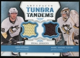 2013-14 Upper Deck Artifacts Tundra Tandems Jerseys Blue #TTFL Kris Letang/Marc-Andre Fleury B