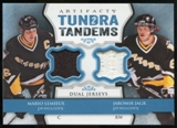 2013-14 Upper Deck Artifacts Tundra Tandems Jerseys Blue #TTLJ Mario Lemieux/Jaromir Jagr B