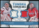 2013-14 Upper Deck Artifacts Tundra Tandems Jerseys Blue #TTNH Michal Neuvirth/Braden Holtby B