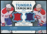 2013-14 Upper Deck Artifacts Tundra Tandems Jerseys Blue #TTPS P.K. Subban/Tomas Plekanec B