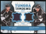 2013-14 Upper Deck Artifacts Tundra Tandems Jerseys Blue #TTRC Jeff Carter/Mike Richards B