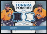 2013-14 Upper Deck Artifacts Tundra Tandems Jerseys Blue #TTWS Shea Weber/Craig Smith B